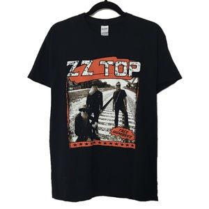 Tops - ZZ Top 2017 Tour graphic band tee
